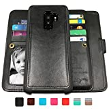 CASEOWL Galaxy S9 Plus Cases,Magnetic Detachable Lanyard Wallet...