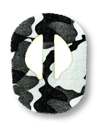 FixTape atmungsaktives Sensor-Tape für Medtronic Enlite I selbstklebendes Patch für Glukose-Sensor mit hohem Trage-Komfort I hautfreundlich und wasserfest in modernen Designs I 7 Stück (Arktis)