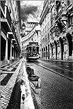 Poster 40 x 60 cm: Lissabon von Jorge Maia - hochwertiger