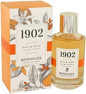 1902 Musc & Neroli by Bérdóúéš for Women Eau De Toilette Spray 3.38 oz