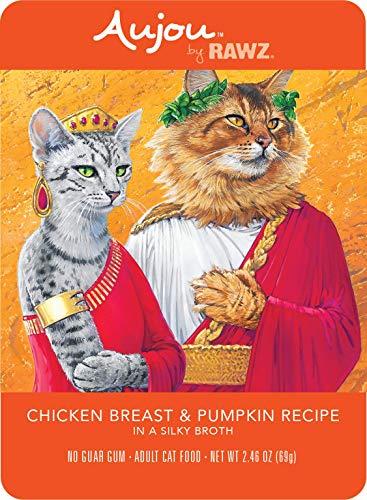 RAWZ Aujou Chicken Breast and Pumpkin Cat Food Pouch