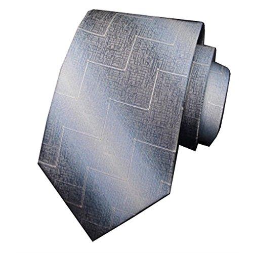 ZSRHH-Neckchiefs Halstücher Seidenhochzeits-Krawatte aus hellblauer Herren-Business-Krawatte Klassische Business-Krawatte