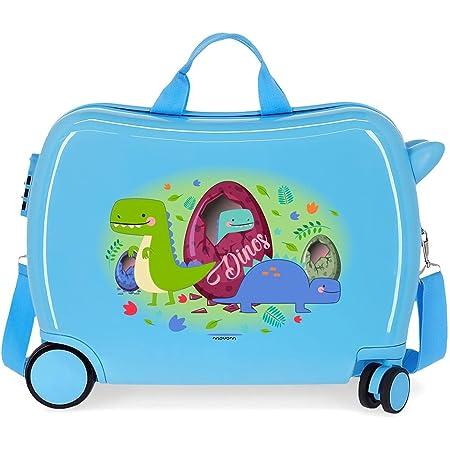 Movom Happy Time Valise Enfant Multicolore 50x38x20 cms Rigide ABS Serrure à combinaison 34L 2,1Kgs 4 roues Bagage à main