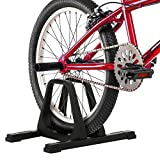 RAD Cycle Bike Stand Portable Floor Rack Bicycle Park for Smaller Bikes Lightweight and Sturdy Ready for The BMX Racing...