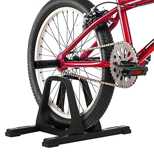 RAD Cycle Bike Stand Portable Floor Rack Bicycle Park for Smaller Bikes Lightweight and Sturdy Ready for The BMX Racing Track