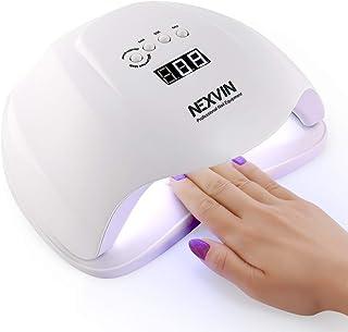 Lámpara LED UV Uñas, NEXVIN 54W Lámpara LED Uñas
