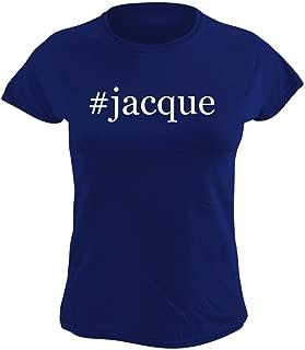 #jacque - Women's Hashtag Graphic T-Shirt, Blue, XX-Large