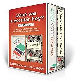 Qué vas a escribir hoy?: Boxset: guías básicas para armar cuentos y novelas. eBook: Falcón, Lorena A.: Amazon.es: Tienda Kindle