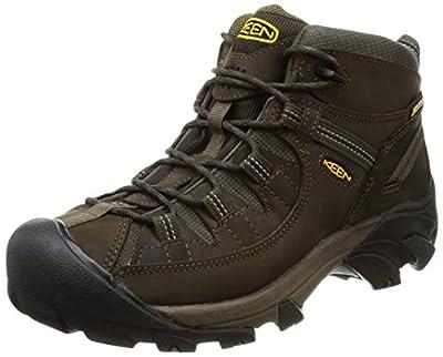 KEEN Men's Targhee II Hiking Shoe, Canteen/Dark Olive - 11.5 D(M) US
