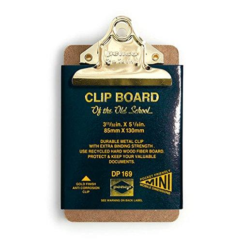 HIGHTIDE クリップボード オールドスクール(ペンコ) ミニ 【ゴールドクリップ】 DP169