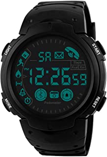 Men Digital Sport LED Watch Waterproof Electronic Casual Military Wrist Rubber Band Gift