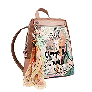 51npVqWGTeL. SS300  - FRABER Mochila Mujer Paseo Anekke Jungle
