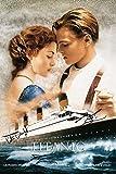 Titanic–Kate Winslet & Leonardo DiCaprio