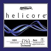 D'Addario ダダリオ ウッドベース(コントラバス)用 バラ弦 Helicore Orchestral E-String H614 1/10M Medium Tension 【国内正規品】