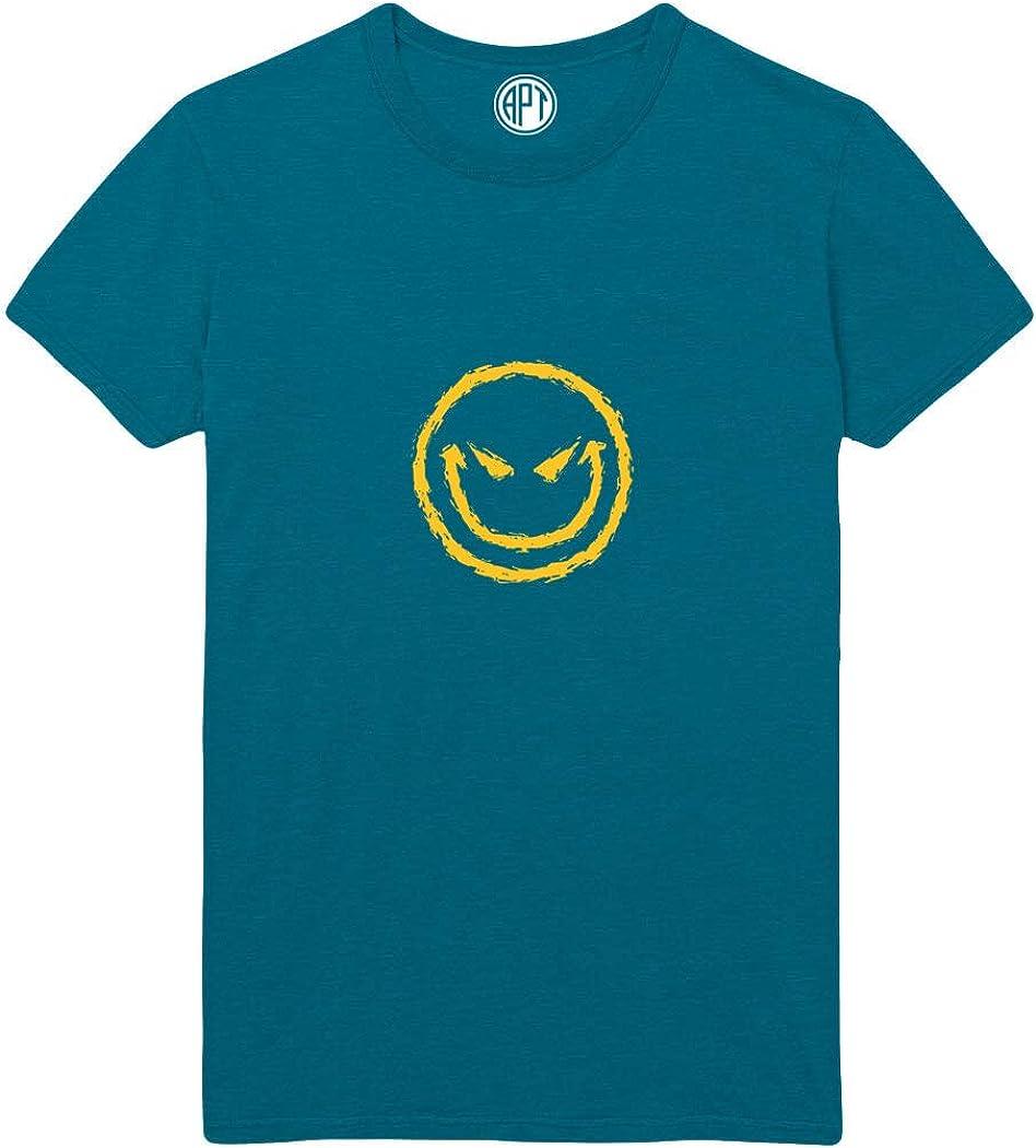 Evil Face Printed T-Shirt