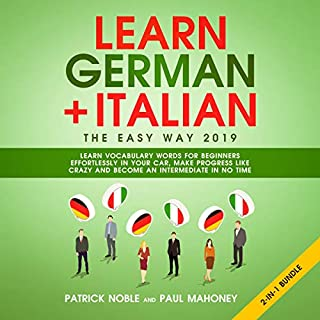 Learn German + Italian The Easy Way 2019 2-In-1 Bundle cover art