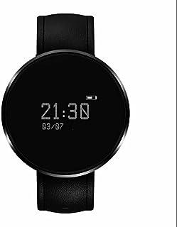 Pulsera de Actividad para Deporte,reloj inteligente mujer con Contador de pasos Monitor de Calorías Monitoreo de frecuencia cardíaca Soporta Llamada Mensaje Compatible con iOS y Android