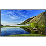 Vutec Silverstar ALR ACP High-Performance Slimline Ultra-Thin Bezel Frame Wall Projector Screen 92In to 184In Diag 16:9 Black Velvet Frame Anti-Crease Movie Home Theater Cinema USA Made (120' 16:9)