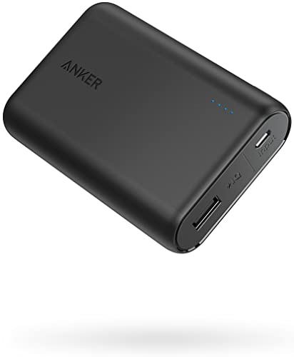 2021 Anker PowerCore 10000 online sale Portable Charger, One of The Smallest and wholesale Lightest 10000mAh Power Bank, Ultra-Compact Battery Pack, High-Speed Charging Technology Phone Charger for iPhone, Samsung and More. outlet online sale