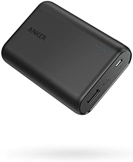 Anker PowerCore 10000 Portable Charger, One of The Smallest and Lightest 10000mAh Power Bank, Ultra-Compact Battery Pack, ...