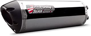 Two Brothers Racing (005-2150406M-S) Black Series M-2 Aluminum Canister Flange-On Exhaust System
