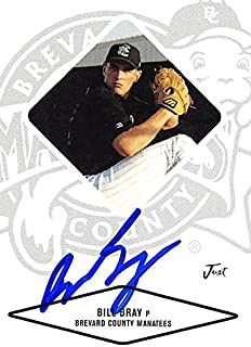 Autograph Warehouse 244968 Bill Bray Autographed Baseball Card - Montreal Expos44; FT 2004 Just Minors - No. 7 Rookie