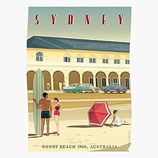Holden Art Nouveau Aussie Top Selling Handmade Home Decor Poster