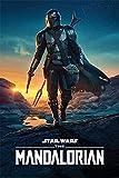 Star Wars : The Mandalorian Nightfall Maxi Poster 61x91.5cm