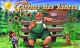 Fanshop Lünen Fahne - Flagge - Gärtner des Jahres - Blumen - Garten - Gärtner - Sonne - Zwerg - 90x150 cm - Hissfahne mit Ösen -