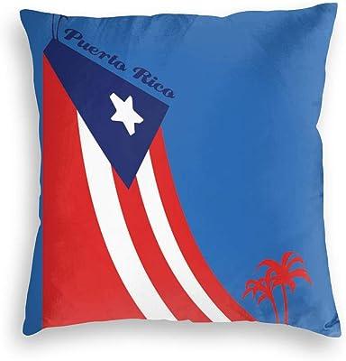 VORCOOL Bandera española Patrón Throw Pillow Case Funda de cojín de Lino Funda de Almohada Inicio Sofá Decoración: Amazon.es: Hogar