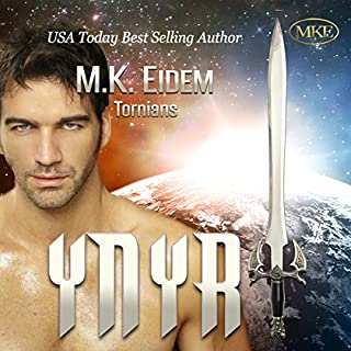 Ynyr     Tornians, Volume 3              Written by:                                                                                                                                 M.K. Eidem                               Narrated by:                                                                                                                                 Ian Gordon,                                                                                        Jennifer Gill                      Length: 11 hrs and 17 mins     3 ratings     Overall 5.0