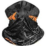 KastKing Sol Armis Neck Gaiter - UPF 50 Face Mask - UV Sun Protection Gaiter Sun Mask for Men & Women, Fishing, Hiking, Kayaking Mask, Prym1 Camo,Blackout,19x9.5 Inches