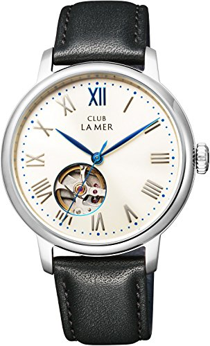 [シチズン]CITIZEN CLUB LA MER クラブ・ラ・メール 機械式腕時計 シースルーバック オープンハート BJ7-018-10 メンズ