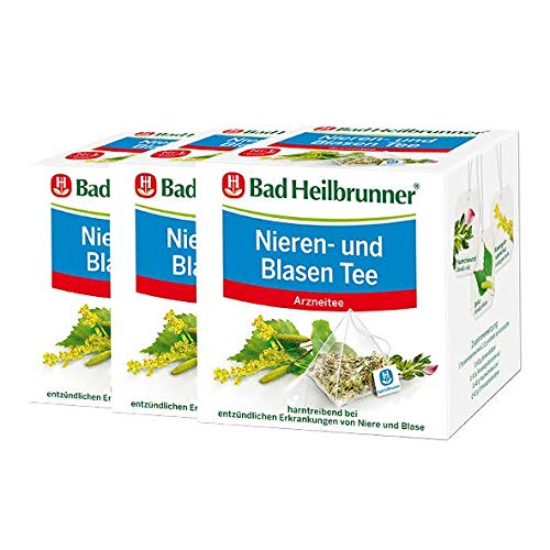 Bad Heilbrunner® Nieren- und Blasentee - Pyramidenbeutel - 3er Pack