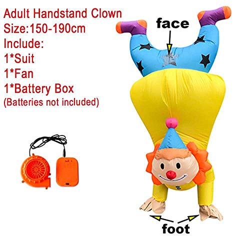 maofan Alien Opblaasbare Kostuums, Leuke Partij Kostuums, Mannen En Vrouwen Halloween Kostuums Clown