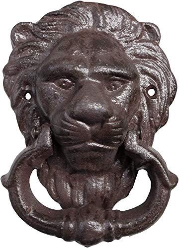 N / A Türklopfer Löwe antik Design aus Gusseisen 15x11 cm