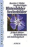 Blütenbilder - Seelenbilder: 39 Bach-Blüten-Farbfotokarten mit Anleitungsbuch