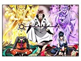 CoolChange Puzle de Naruto, 1000 Piezas, Tema: pergaminos