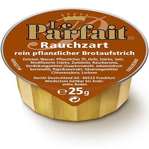 Le Parfait Rauchzart, Veganer Brotaufstrich Herzhaft Cremig und Pflanzlich, o.k.A., 1 Karton (120 x 25g)
