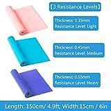 Zoom IMG-2 3 pezzi banda elastici fitness