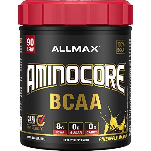 AllMax Nutrition Aminocore BCAA, Pineapple Mango, 1.10 kg
