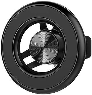 PETERONG KFZ Handyhalterung Auto Kompatibel mit MagSafe, Auto Vent Halterung 360 Grad Drehung KFZ Lüftung Halter Magnetisch Universal Autohalterung Kompatibel mit iPhone 12/11, Samsung HTC(Schwarz)