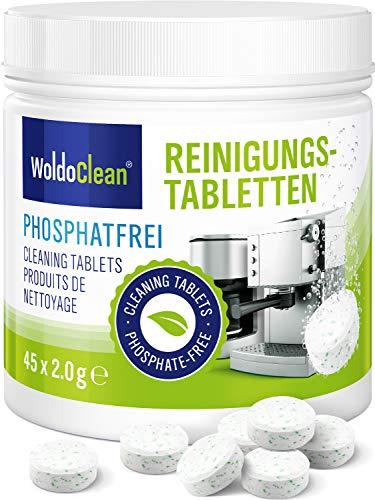 Reinigungstabletten für Kaffeevollautomat 45x 2g phosphatfrei - für sämtliche Kaffeemaschinen