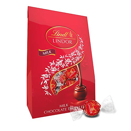 Lindt Holiday Peppermint White Chocolate Truffles, Great for Holiday Gifting, 19 Ounce Bag