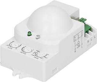 Orno Or- CR-208 Mini-magnetron bewegingsmelder binnen 360 graden met schemeringssensor LED compatibel