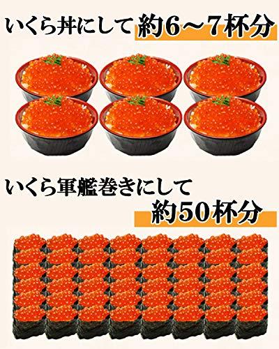 ますよね 鱒 いくら醤油漬け 500g (北海道加工 ロシア産 イクラ醤油漬け) イクラ いくら