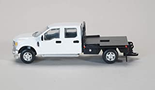 Spec Cast 1/64 White Ford F-250 Pick-up with Flatbed 52602