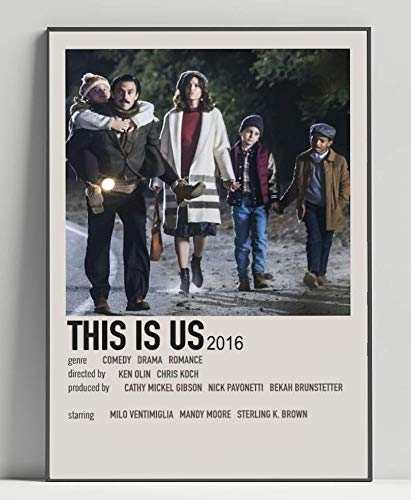 This is Us Limited Poster Artwork - Professional Wall Art Merchandise (More (8x10)