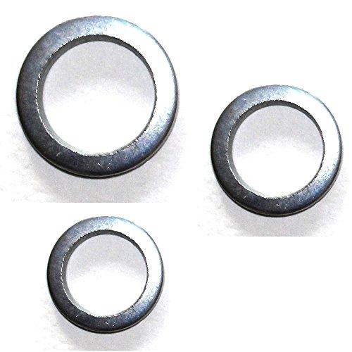 60 Stück mai® Fitschenringe RN 324 Stahl verzinkt gemischt Sortiment Ø 10,2/11,2/12,2 mm
