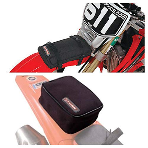 Tusk Universal Front and Rear Motorcycle Enduro Fender Pack Kit